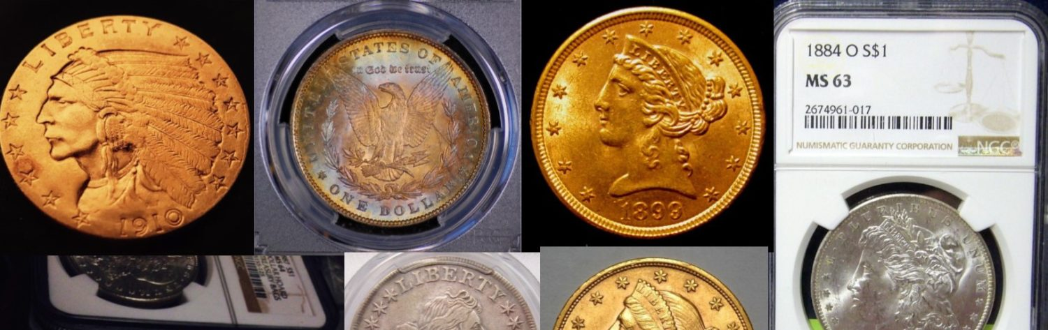 Wilmington, NC Coin Buyer – Sell Single Coins or Coin Collections!