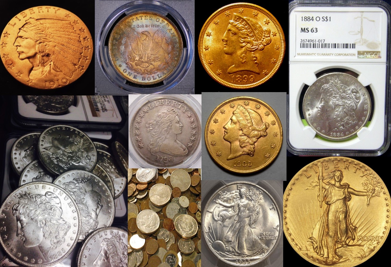 Wilmington's Largest Private Coin Buyer  Sell Coins in Wilmington